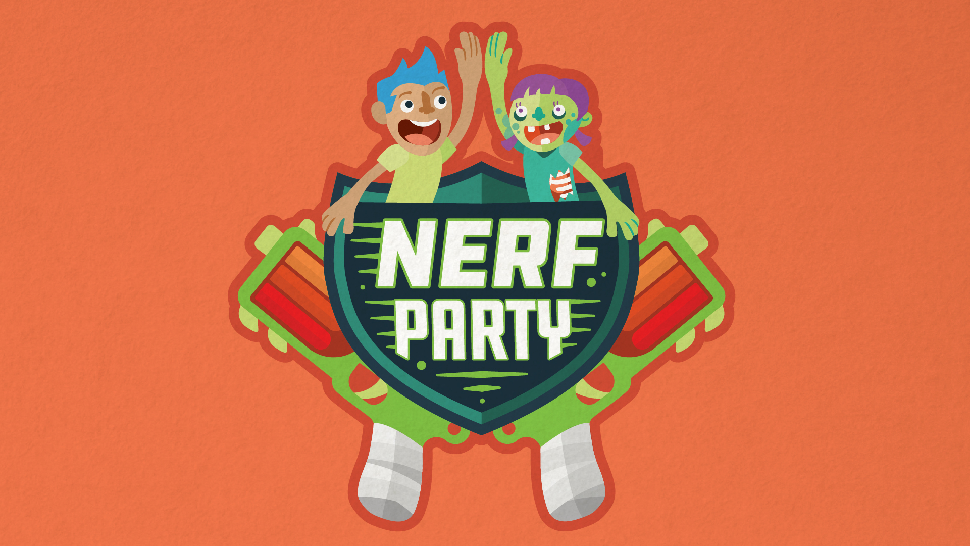 graphic relating to Nerf Logo Printable named Celebration Invites - Parkour, NERF, and Ninja Warrior